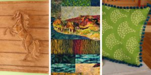 Projects from Quilting Arts TV episode 1801