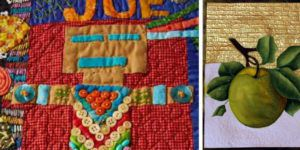 Projects featured in Quilting Arts TV episode 1909