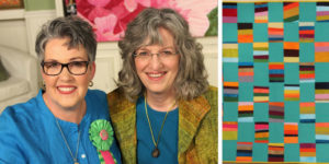 Project by Malka Dubrawsky from the set of Quilting Arts TV