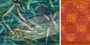 Two projects featured in episode 2009 of Quilting Arts TV