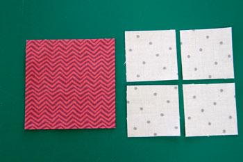 1 QM Bitty Blocks: Flying Geese Pinwheels