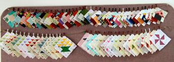 11 QM Bitty Blocks: Flying Geese Pinwheels