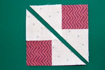 4 QM Bitty Blocks: Flying Geese Pinwheels