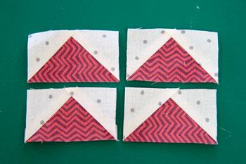6 QM Bitty Blocks: Flying Geese Pinwheels