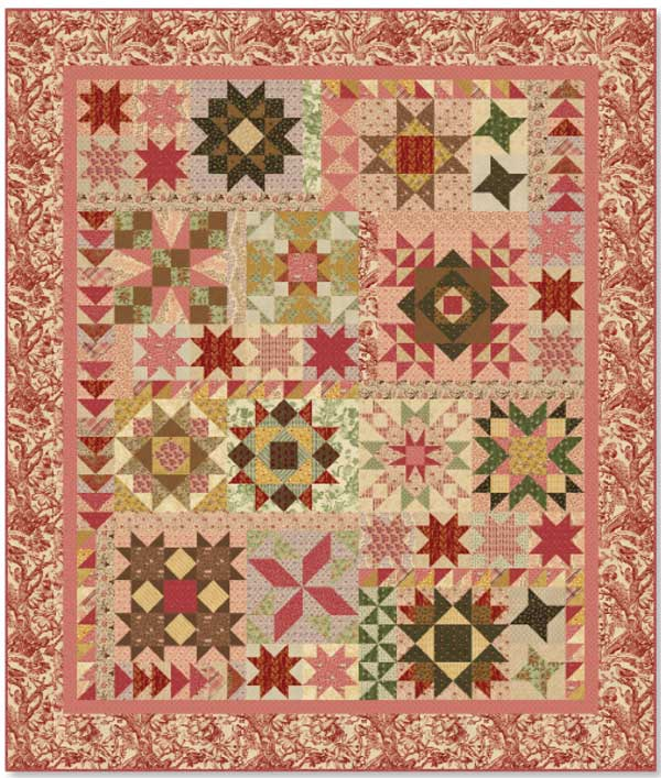 Friday Free Quilt Patterns A Sparkling Sampler Mccall S Quilting Blog Quilting Daily