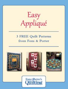 Easy applique patterns