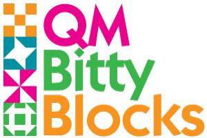 BittyBlockLogo 300px1 The Bitty Blocks of 2015: Free Quilt Block Patterns