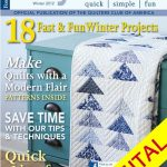 Easy Quilts Winter 2012