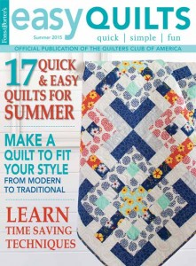 Easy Quilts Winter 2015