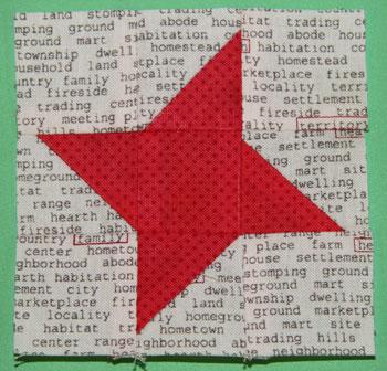 Friendship Star The Bitty Blocks of 2015: Free Quilt Block Patterns
