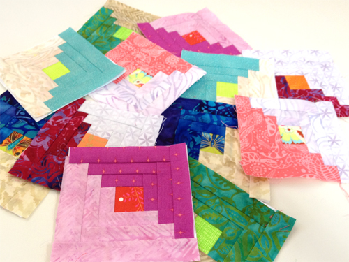 LGBB group The Bitty Blocks of 2015: Free Quilt Block Patterns