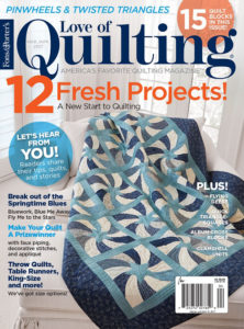 Love of Quilting Mar/April 2017 Cover
