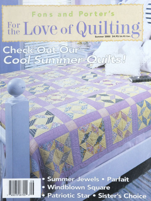 Love of Quilting Summer 2000