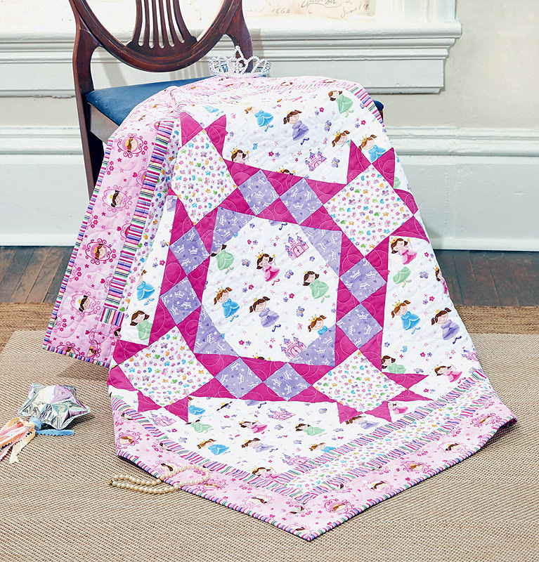 Kid Size Quilt A is For...