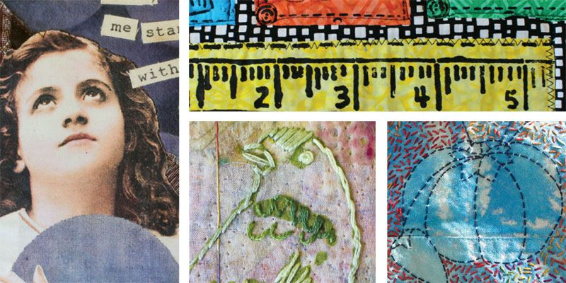 Projects featured in Quilting Arts TV Series 1500