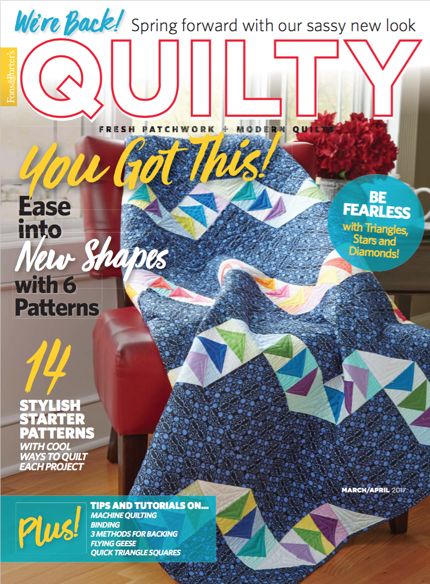 Quilty March/April 2017 Magazine