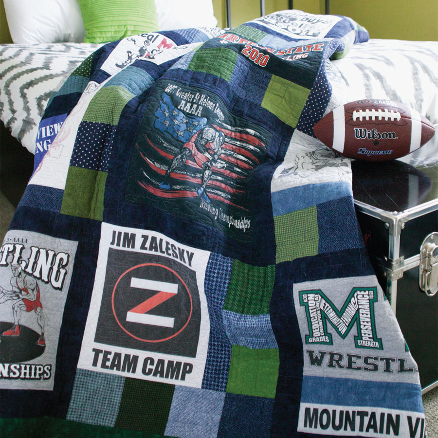 Quilted Memories T-Shirt Quilt