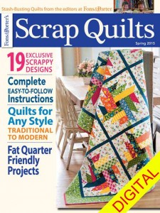 Scrap Quilts Spring 2015