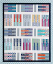 Free Jelly Roll Quilt Pattern - Pick Up Sticks