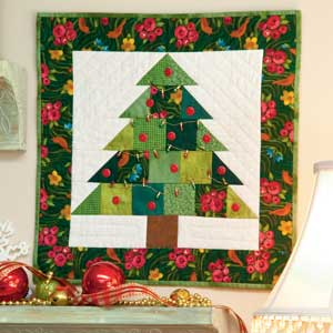 Tiny Tannenbaum Free Adorable Little Christmas Tree Quilt Pattern Quilting Daily