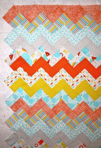 chevron 11 Carolyns Chevron QuiltFree Pattern