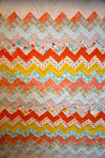 chevron 6 Carolyns Chevron QuiltFree Pattern