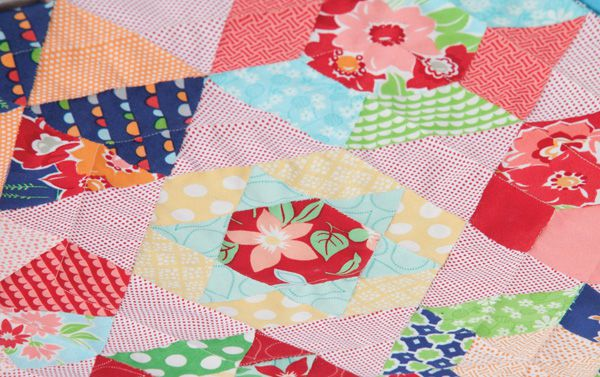 english paper piecing table topper 600 English Paper Piecing Tutorial