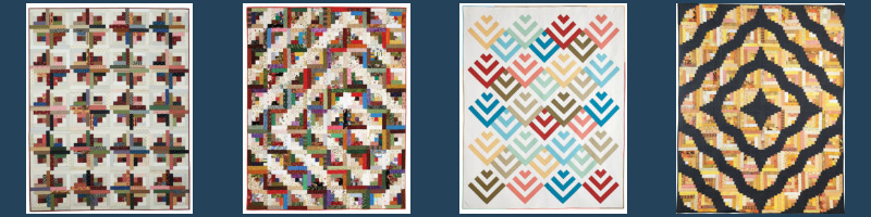 Free Log Cabin quilt pattern download from The Quilting Company!