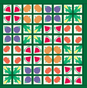 Free pot holder pattern: Setting Ideas
