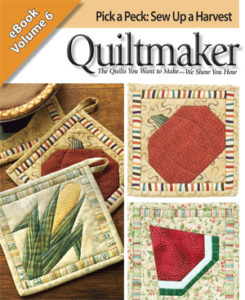 3 Free quilted potholder patterns