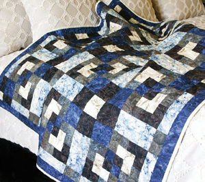 Free quilt pattern for beginners: Grand Square