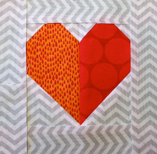 heartcropped The Bitty Blocks of 2015: Free Quilt Block Patterns