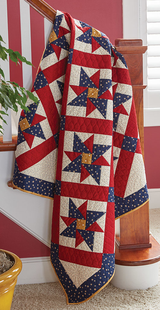 Parade Rest Quilt   Fons & Porter | Quilting Daily