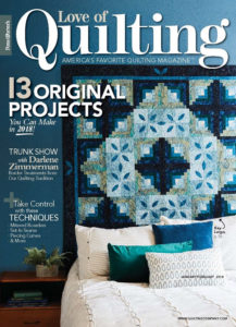 Love of Quilting January/February 2018