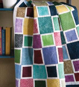 Free beginner quilt pattern: Mediterranean Mosaic