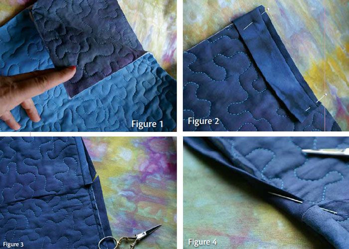 Learn how to make an invisible sleeve to finish your two-sided quilts.