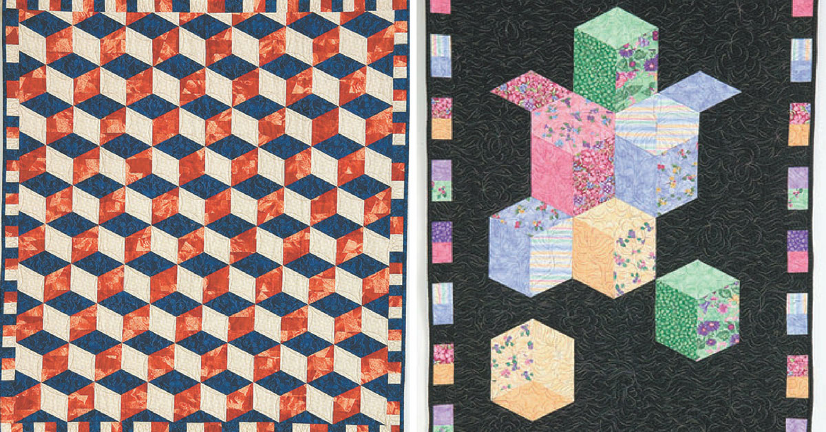 I Love This Quilt Tumbling Blocks Quilting Daily