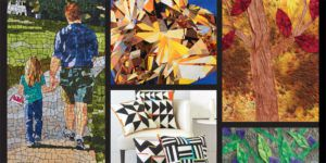 Art quilts featured in Quilting Arts TV 2100