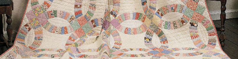 Learn how to re-create the double wedding ring quilt with our expert guide and patterns!