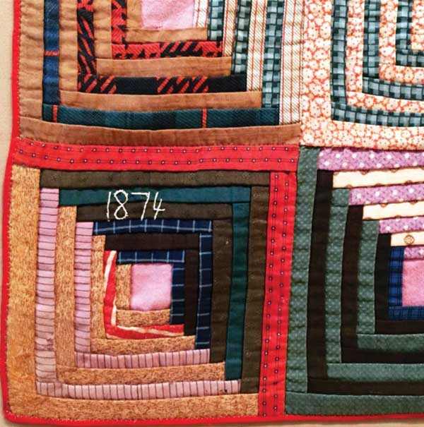 Log Cabin Quilts The Building Of An American Classic Quilting Daily
