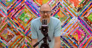 Bill Volckening behind the camera.