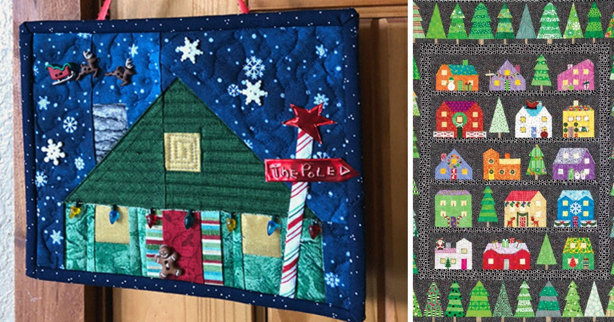 First Snow Free Christmas Quilt Block Part 4 Quilting Daily