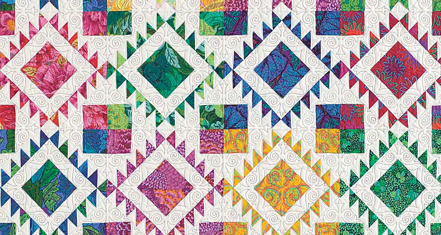 Quilting cover image