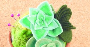 quilt gifts how to make a succulent