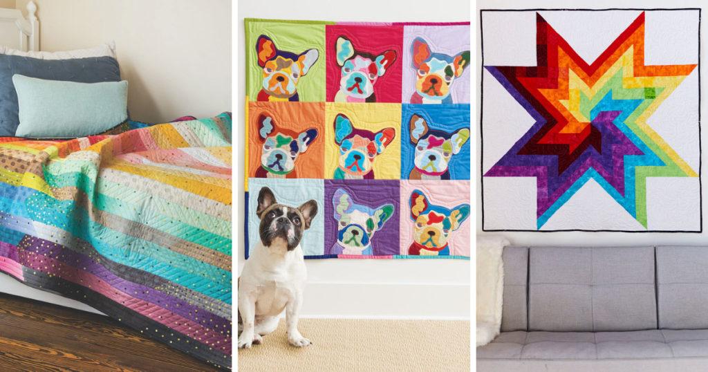 A few fresh modern quilts