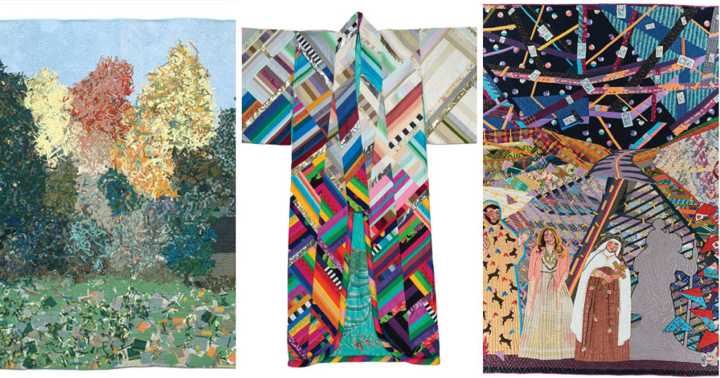 Art quilts from SAQA 1980s-1990s