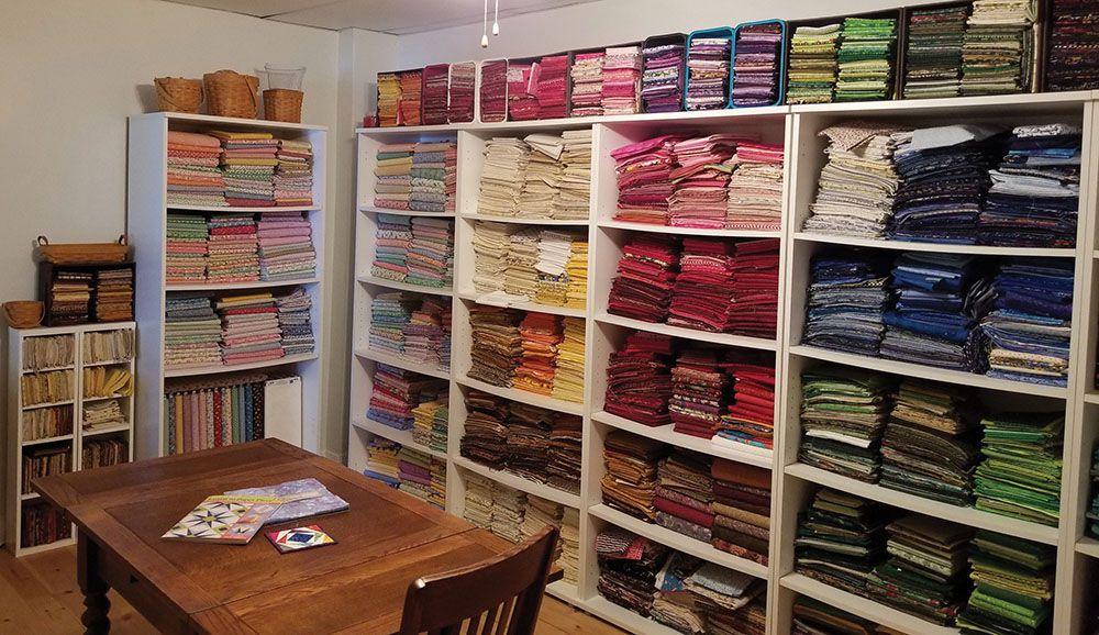 Nancy's sewing room