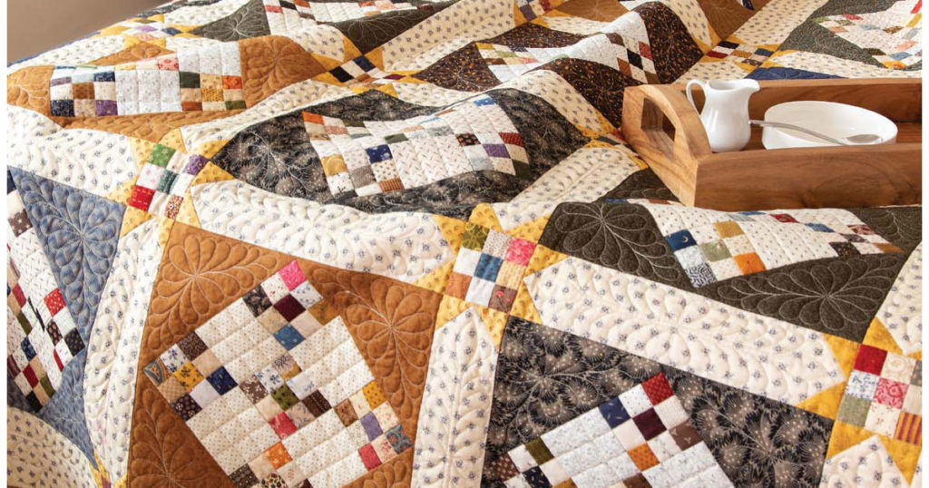 One of many scrap quilts from the January/February issue of Love of Quilting.