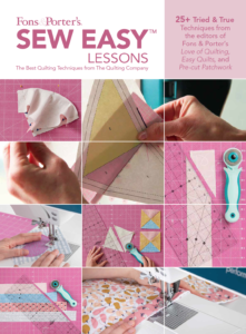 Free Fons & Porter's Sew Easy Lessons eBook
