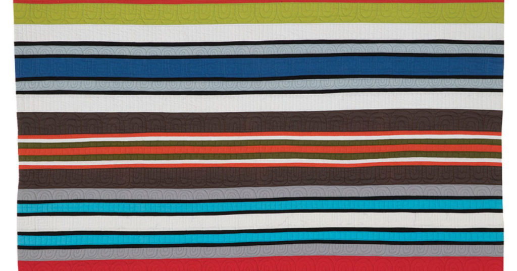 Making Stripes with Solid Fabrics in Modern Quilts | Quilting Daily